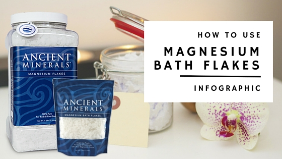 How to use magnesium flakes