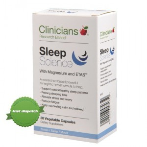 Clinicians Sleep Science with Magnesium and  ETAS best sleep supplements