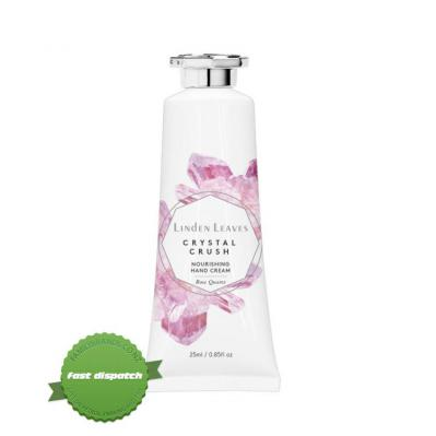 Buy Linden Leaves Crystal Crush Rose Quartz Nourishing Hand Cream 25ml - Prompt Dispatch