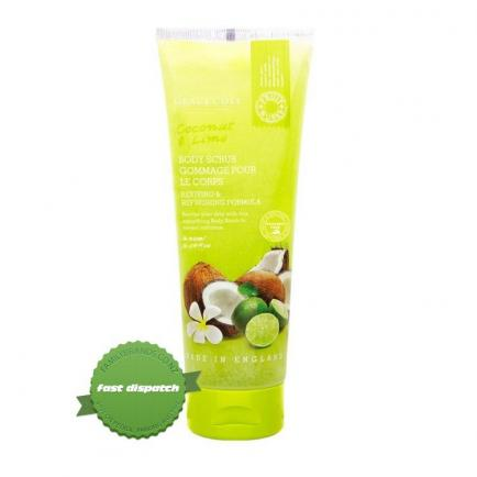 Buy Grace Cole Fruitworks Coconut And Lime Body Scrub 238ml online -