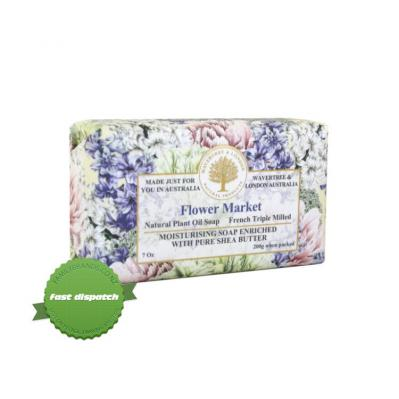 Buy Wavetree and London Triple Milled French Soap Flower Market 200g - Speedy Dispatch