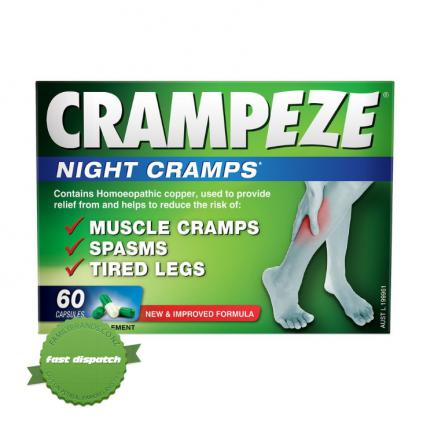 Buy Crampeze Night Capsules 60s -
