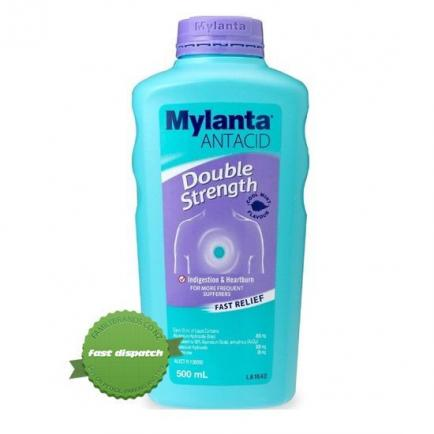Buy Mylanta Liquid Double Strength 500ml