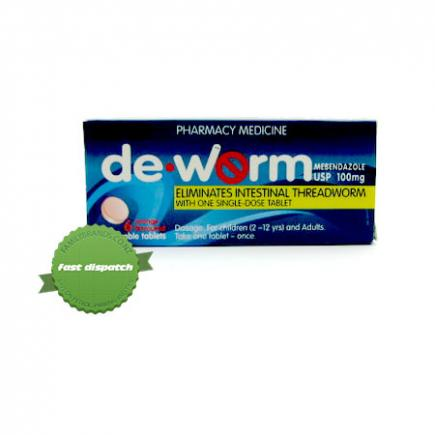 Buy De Worm 100mg 6