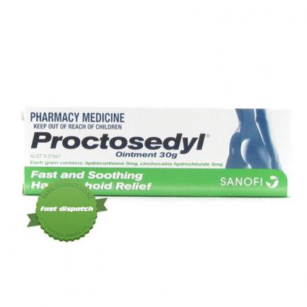 Buy Proctosedyl Ointment 30g