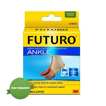 Buy futuro ankle wrap around med -