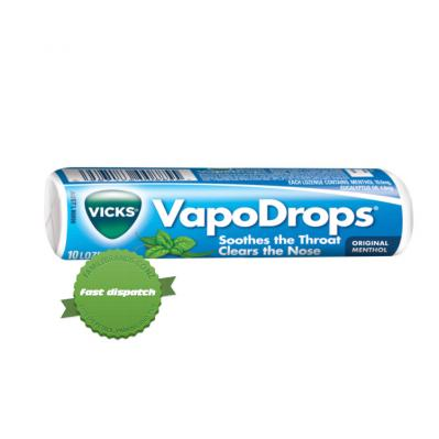 Buy vicks original menthol drops 10 loz - Speedy Dispatch