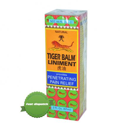Buy Tiger Balm Liniment 57ml - overnight courier anywhere in NZ