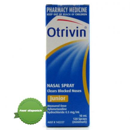 Otrivin Junior Spray 10ml - Childrens Nasal Spray