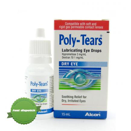 Buy Poly Tears Eye Drops 15ml