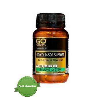 Buy Go Healthy Go Cold Sore Support 30 VegeCapsules