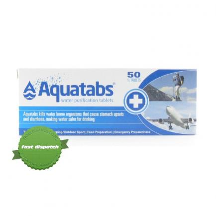 Buy aquatabs water purify tabs - Speedy Dispatch