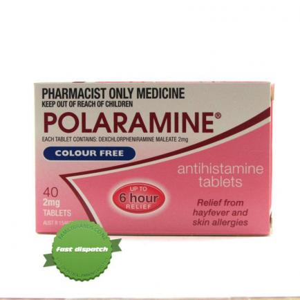 Buy polaramine tabs 2mg 40s - Speedy Dispatch