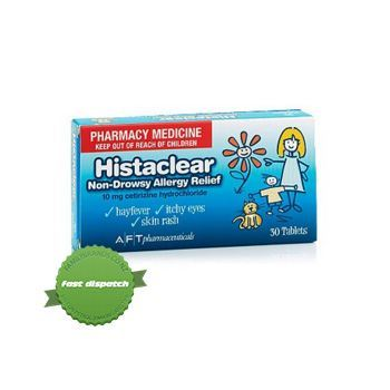 Buy Histaclear 10mg 90 Tablets