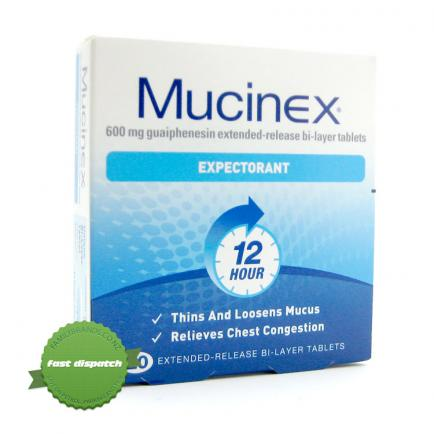Buy Mucinex Expectorant 12HR Tablets 20s
