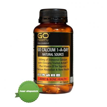 Buy gohealthy calcium 1-a-day 60 - Speedy Dispatch