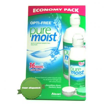 Opti Free Pure Moist Multipurpose Disinfecting Lens Solution