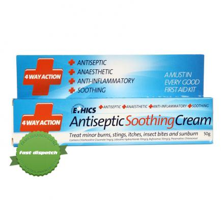 Buy Ethics Antiseptic Soothing Cream 50g - Fast Shipping