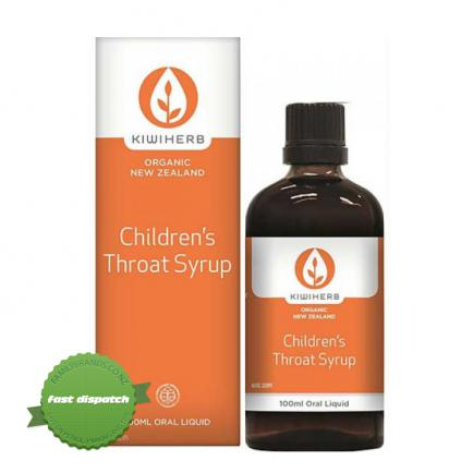 Buy Kiwiherb Children Throat Syrup 100ml - Ships Fast
