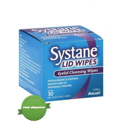 Buy systane lid wipes eyelid cleansing wipes 30 oremistened wipes
