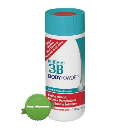 Buy Neat 3B Body Powder 125g For Skin Chafing and Rubbing