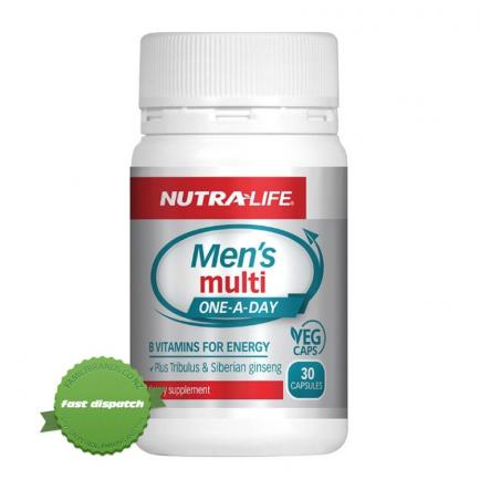 Buy Nutralife Mens Multi One a Day 30 Capsules - Ships Fast