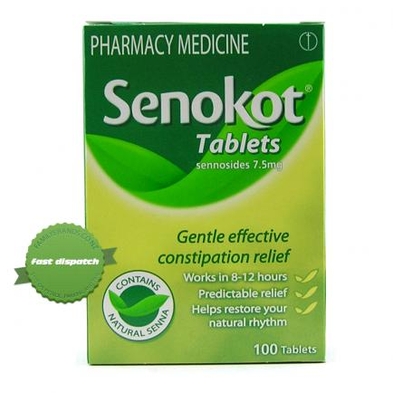 Buy Senokot Tablets 100