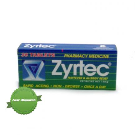 Buy zyrtec tablets 30 overnight courier anywhere in NZ