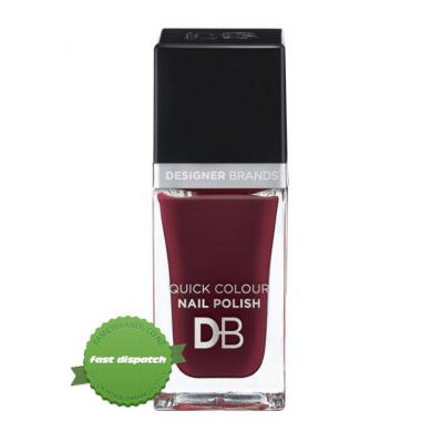Buy Designer Brands Quick Color Nail Polish 783 Burgundy Flame - Speedy Dispatch