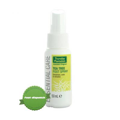 Buy Thursday Plantation Tea Tree Foot Spray 50ml - Speedy Dispatch