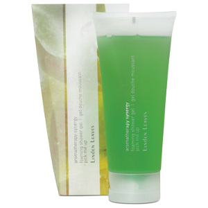 linden leaves aromatherapy synergy foaming shower gel pick me up 200ml -