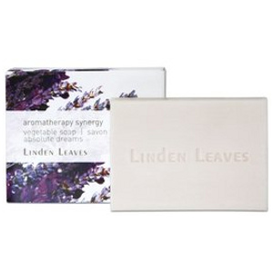 linden leaves aromatherapy synergy vegetable soap absolute dreams 100g -