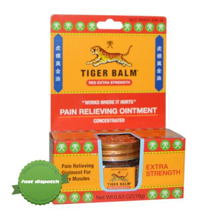 Buy Tiger Balm Ointment Red Xtra 18g - overnight courier anywhere in NZ