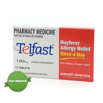 Buy Telfast Tablets 120mg - overnight courier anywhere in NZ