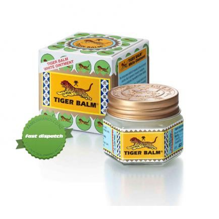 Buy Tiger Balm Ointment White 18g - overnight courier anywhere in NZ