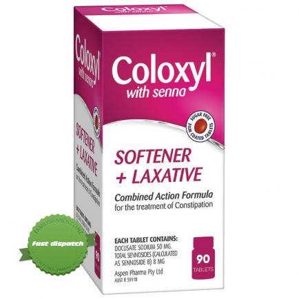 Buy Coloxyl with Senna Tablets 90s