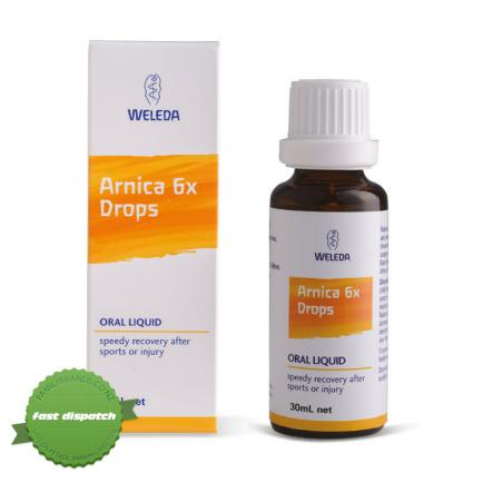 Buy Weleda Arnica 6x Drops 30ml - overnight courier anywhere in NZ