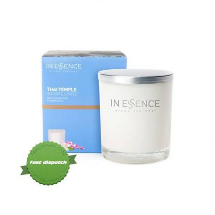 Buy in essence soy candle thai temple 310g - Ships Fast