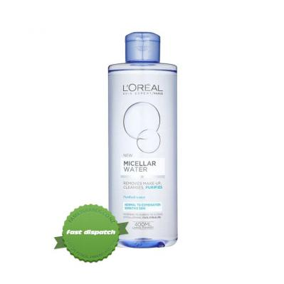 Buy loreal micellar water comb oily 400ml - Speedy Dispatch