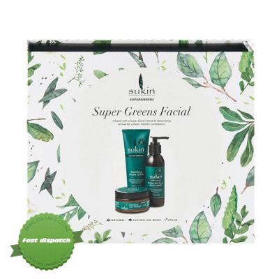 Buy sukin super greens facial gift pack - Speedy Dispatch