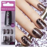 PRESS AND GO Press-on Manicure Nail Go Holla-