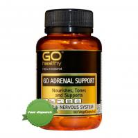 Buy Go Healthy Go Adrenal Support 120 Capsules - Ships Fast