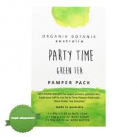 Buy Organik Botanik Party Time - Green Tea Pamper Pack - Speedy Dispatch