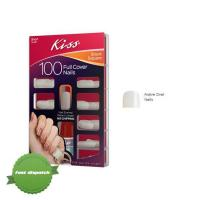 Buy Kiss Full Cover Nails Active Oval 100s