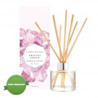 Buy Linden Leaves Crystal Crush Rose Quartz Diffuser 100ml - Speedy Dispatch