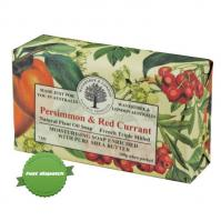 Wavetree and London Persimmon and Red Currant Natural Plant Oil Soap