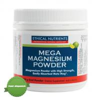 Buy Ethical Nutrients Mega Magnesium Powder Citrus 200g