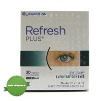 Buy refresh plus eye drops 0 4ml 30 -