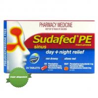Sudafed PE Sinus Day and Night 24 -