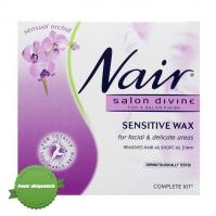 Buy Nair Salon Divine Sensitive Wax for Facial and Delicate Areas 100g -